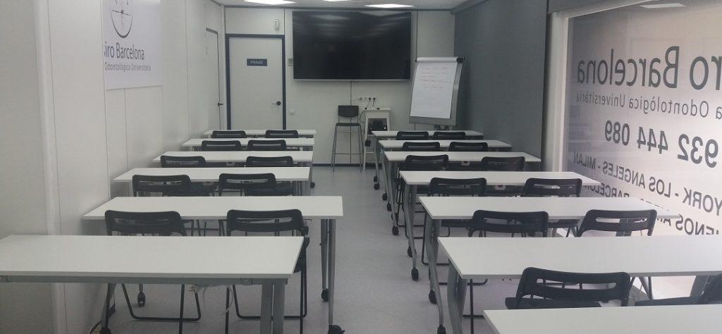 Aula ESIRO Barcelona Clínica Odontológica Universitaria - PGO UCAM